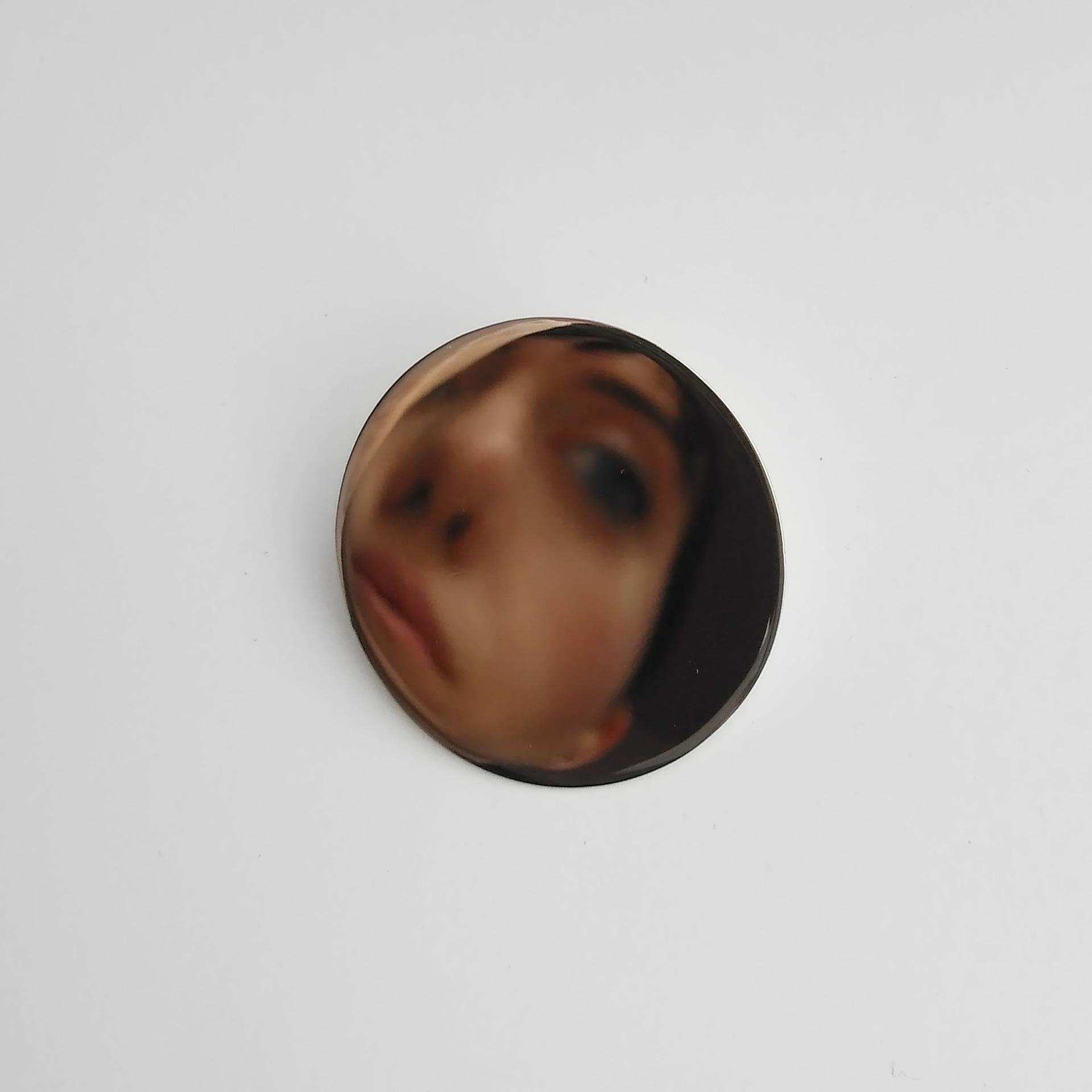 Pin / Silber spiegelpoliert