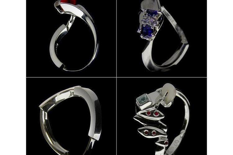 »ringen« Ringe - Entwurfsautomat für Schmuck