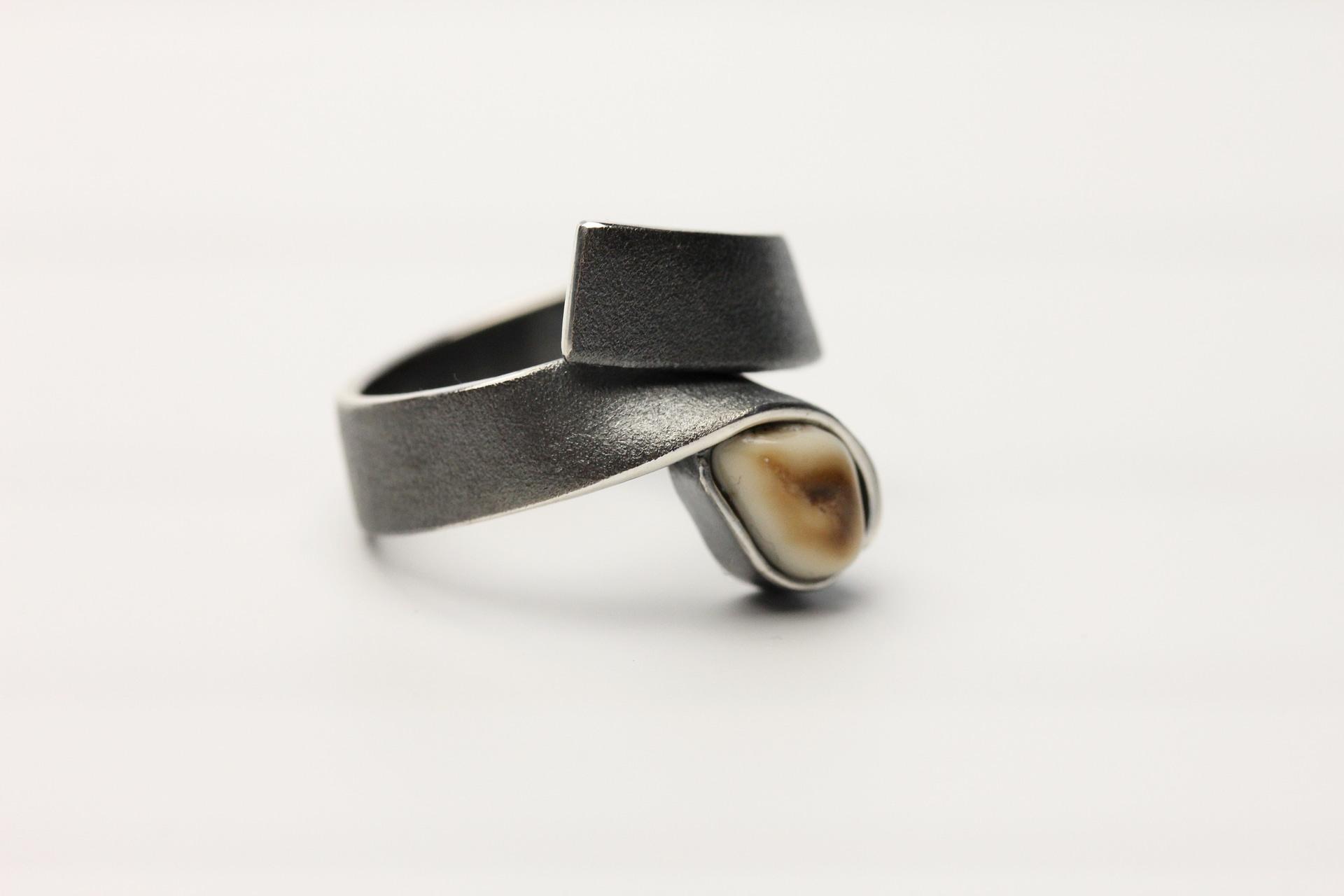 Ring / Silber, Grandel